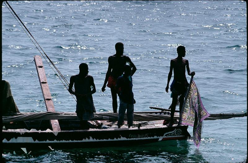 Lamu Island fishermen