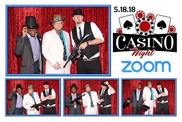 Zoom Casino Night