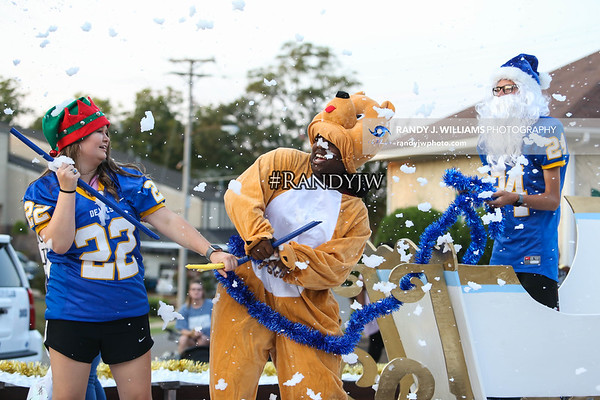 Booneville High's Homecoming Parade & Pep Rally