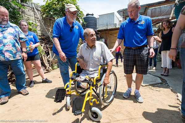 Wheelchair Deliveries to the Homebound