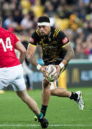 Vaea Fifita during game 8 of the British and Irish Lions 2017 Tour of New Zealand,The match between  Hurricanes and British and Irish Lions, Westpac Stadium, Wellington, Tuesday 27th June 2017 (Photo by Kevin Booth Steve Haag Sports)  Images for social media must have consent from Steve Haag