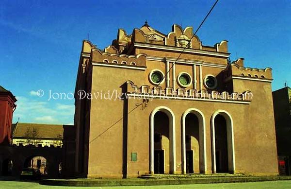 SLOVAKIA, Kosice. Synagoga Postavena Roku (Košice Synagogue). (1998)