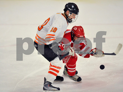 Woburn v. Melrose boys' hockey