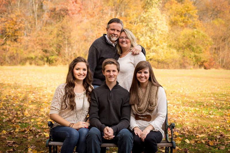 Buchan Fall Family Photo - Laurel Acres, Mt. Laurel, NJ