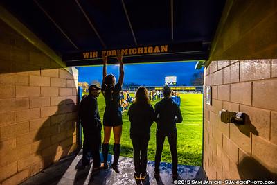 10-24-15 Michigan Women's Soccer Vs Purdue (Senior Night)