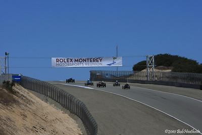 2010 Friday Rolex Monterey Motorsports Reunion at Mazda Raceway Laguna Seca