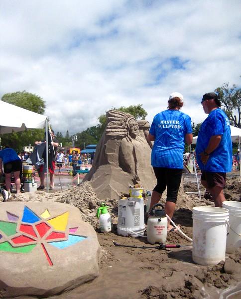 Cobourg's Sandcastle Festival