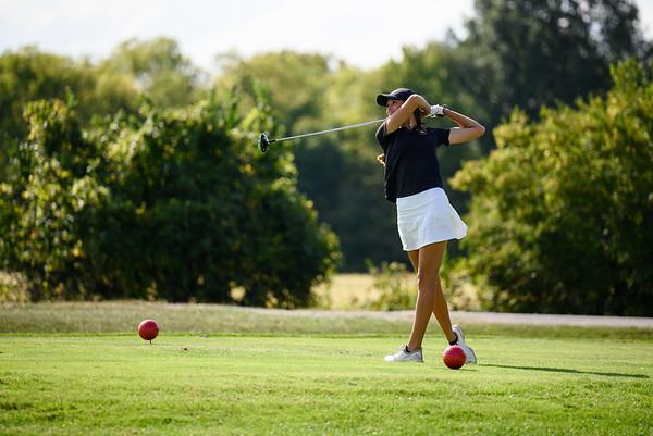 2021-09-16 Hayes Girls Golf at Oakhaven