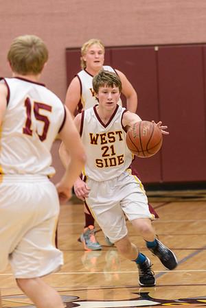 West Side vs. Grace Basketball