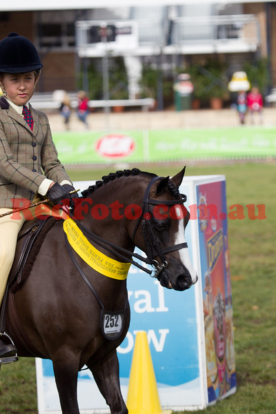 2014 09 30 Perth Royal Show Childs Pony Hack