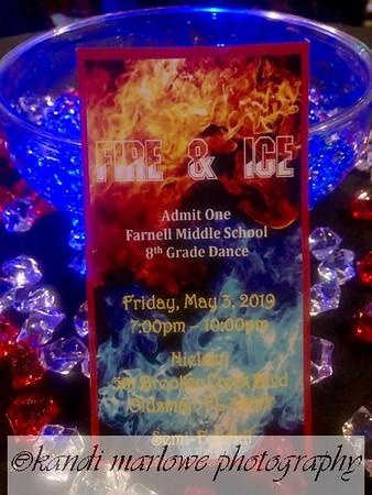 Farnell 8th Grade Dance May 3, 2019