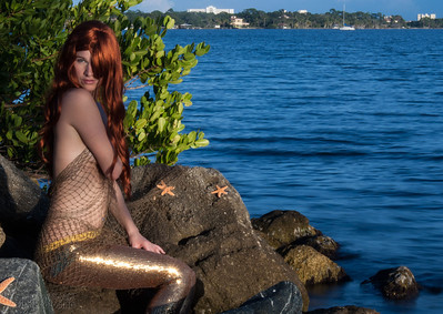 Monica Mermaid Shoot