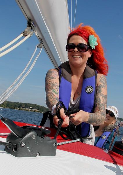 First Sail for SpinSheet