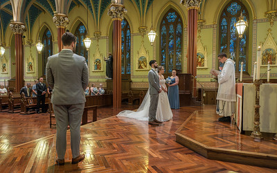 Heidi & Nate Exchange Marriage Vows