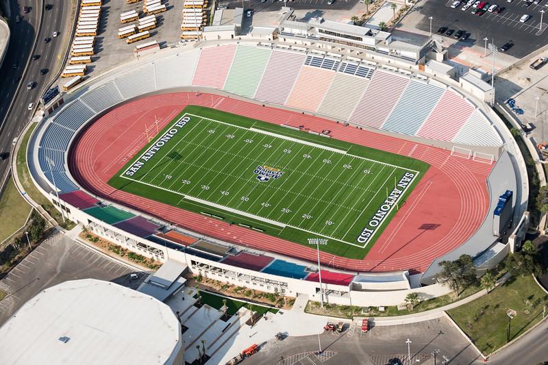 09/23/2014 093254 -- San Antonio, TX -- © Copyright 2014 Mark C. Greenberg  Alamo Stadium