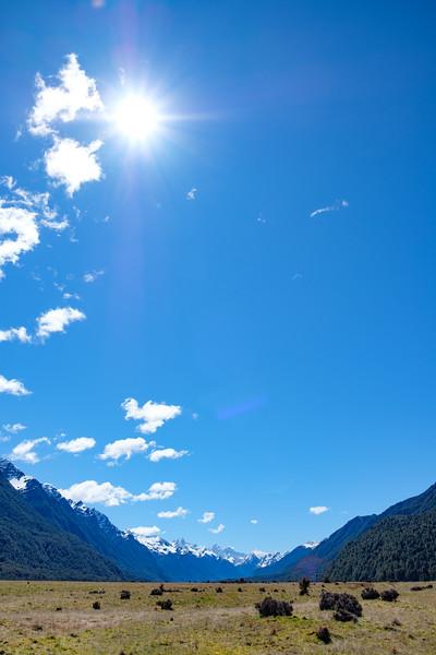 Eglinton Valley, Fjordland National Park, South Island New Zealand