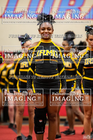 Irmo Varsity Cheer-Falcon Invitational