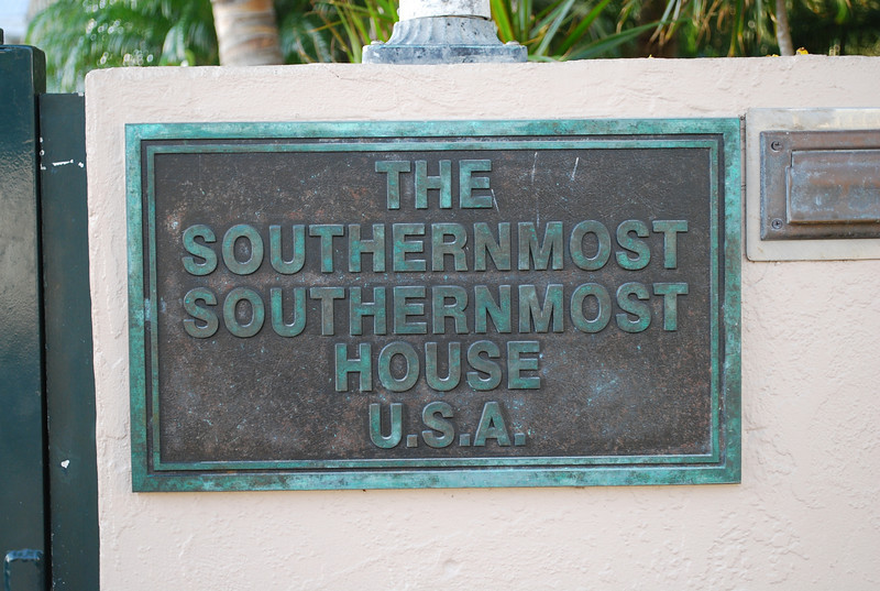 Which came first?  The Southernmost House or its neighbor the Southernmost Southernmost House?
