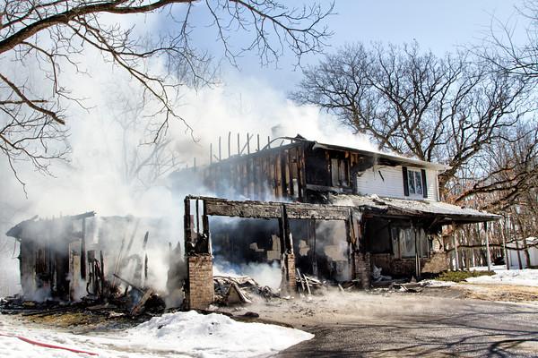 Fire on Primrose Center Rd