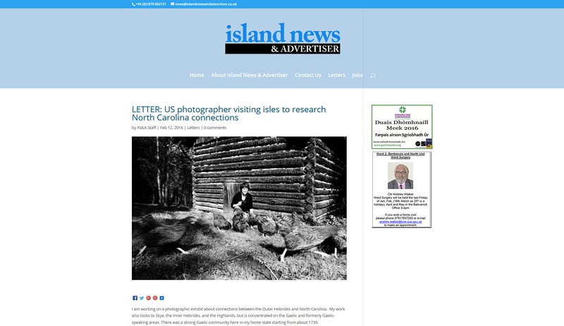 Island News and Advertiser