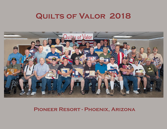 Quilts Of Valor - 2018