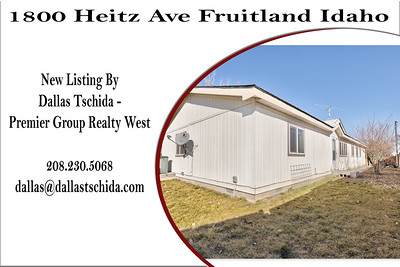 1800 Heitz Ave Fruitland Idaho - Dallas Tschida