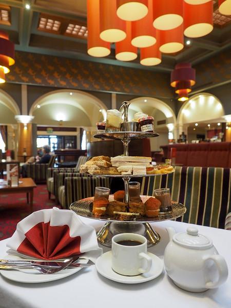 Afternoon tea at the Royal Hotel Hull