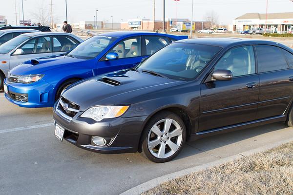 Subaru Owners Club 3 April 2013