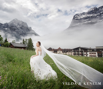Overseas Pre-Wedding - Velda and Kenelm Switzerland B