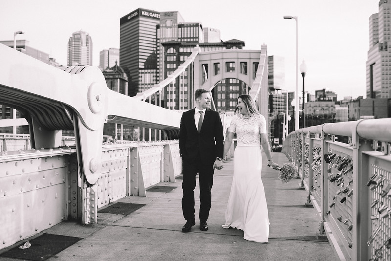 Pittsburgh Elopement Photographer - Monaco Bridge Downtown - Hadley-252.jpg