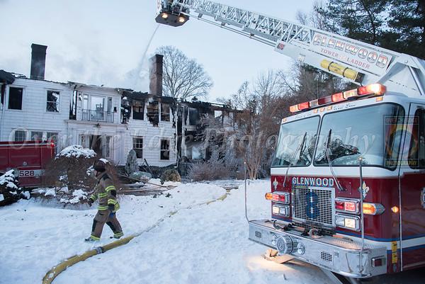 Glen Cove House Fire 01/06/2018