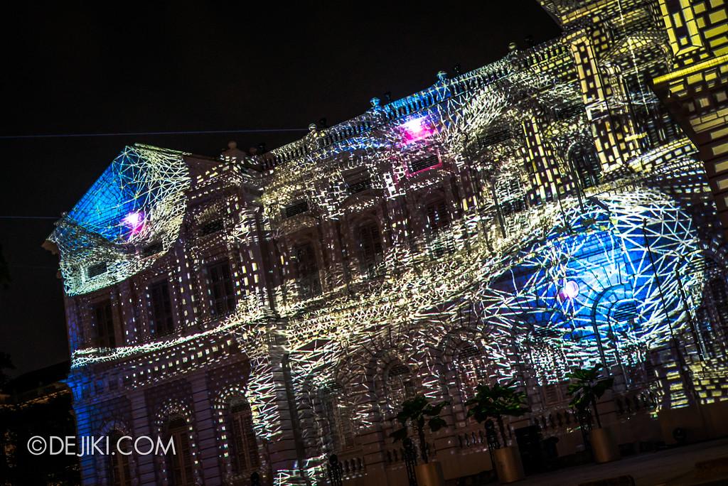 Singapore Night Festival 2017 / Convolutions by EZ3kiel (FR) specular