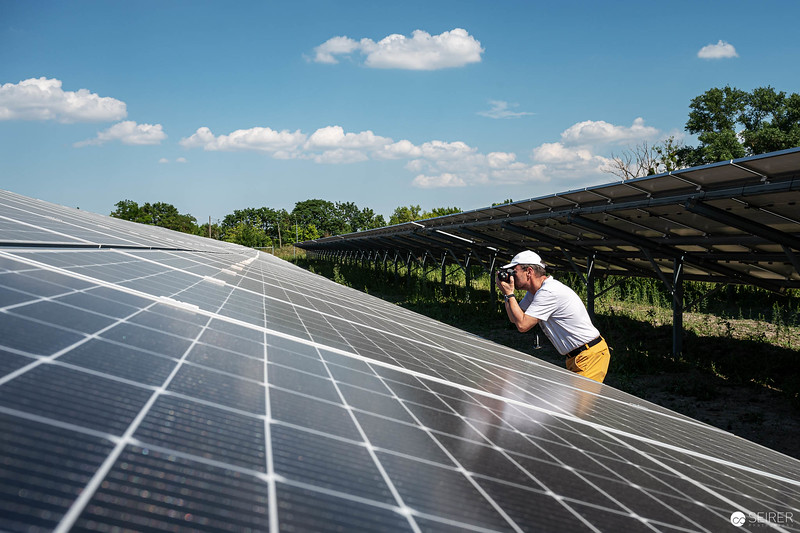 Schafflerhof Photovoltaikanlage Wien Energieleben Wien Energie