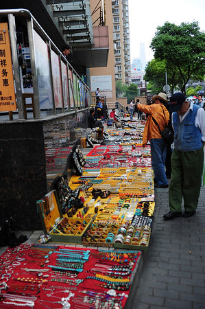 Shopping in Shanghai May 2011