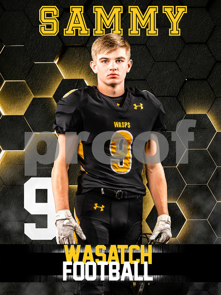2019 WHS Football Banners