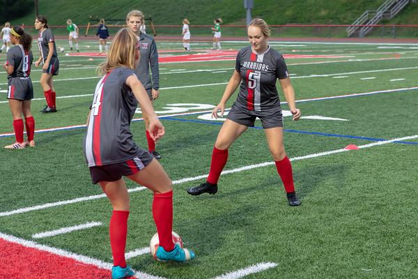 09-26-18 Girls Soccer CV vs SV
