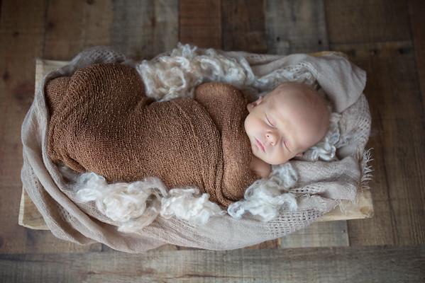 Clark Shuman newborn photos