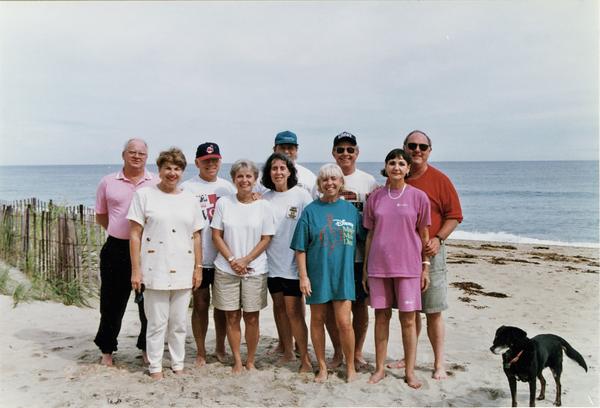 1996 09 Merrimack Valley Group at Salisbury