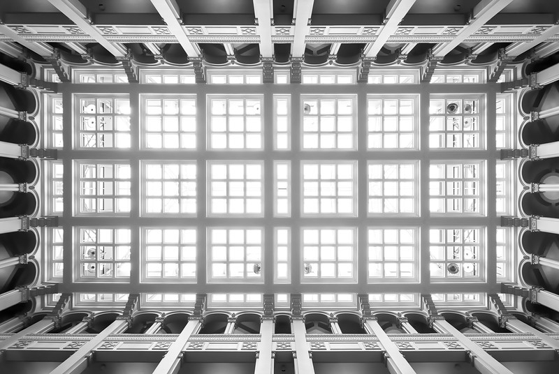 Landmark Center Ceiling