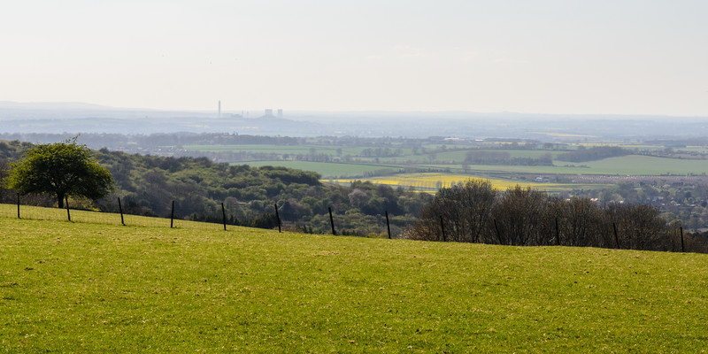 Didcot Power Station and the Oxfordshire landscape