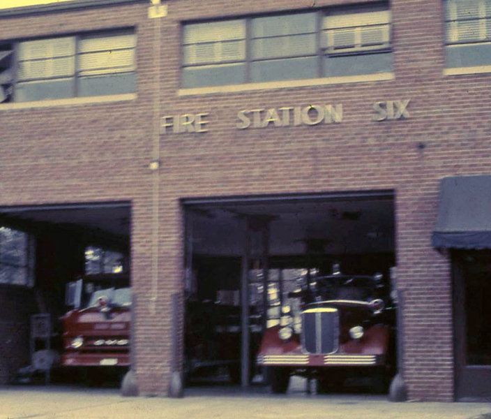 Station 6 in 1970s. Matt White photo.