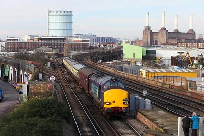 Victoria & Waterloo lines - Clapham Jn.