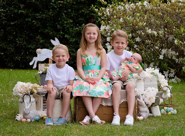 The Miller Children~Easter Bunny