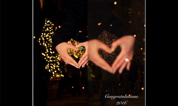 Katelyn & Nathan Rockefeller Center Engagement