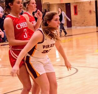 HS Sports - New Boston Huron v Riverview Girls Basketball 2020
