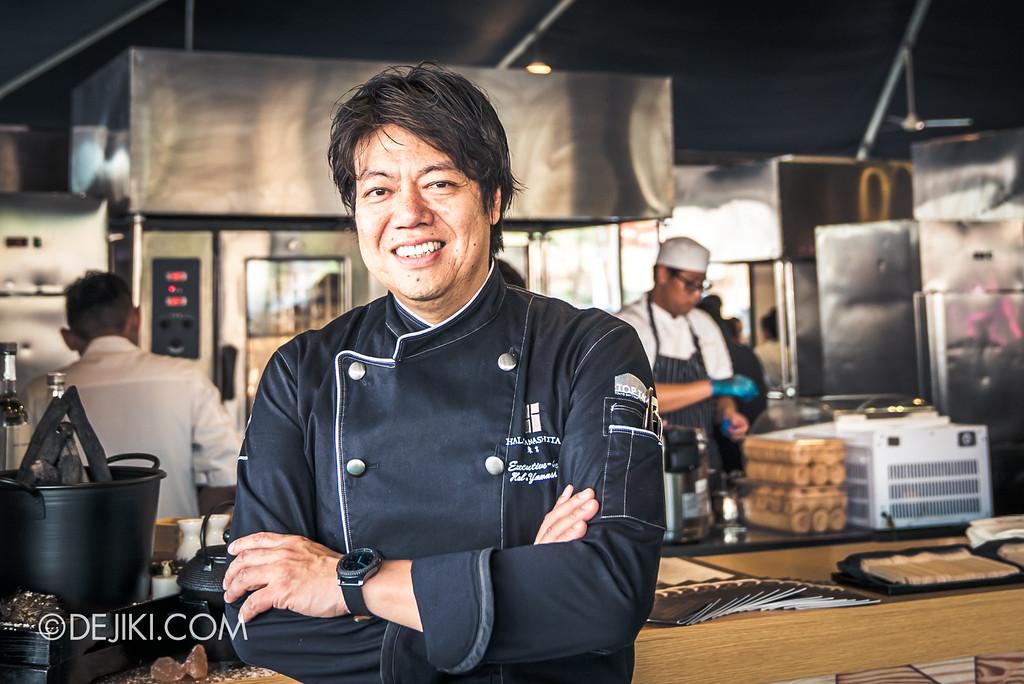 The Great Food Festival RWS - Celebrity Chef Area / Hal Yamashita from SYUN