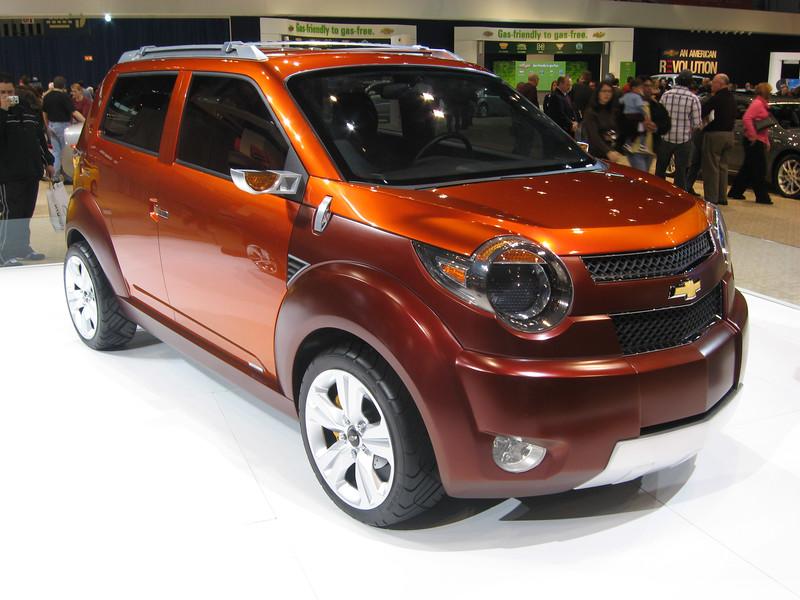 Concept car: Chevrolet Trax