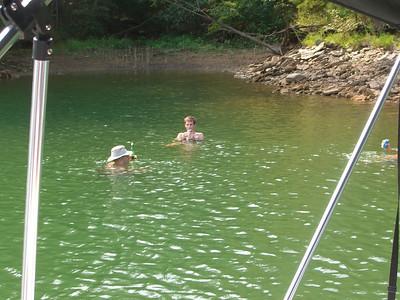 08-17 - Boating - Man Day - Lake Allatoona, GA