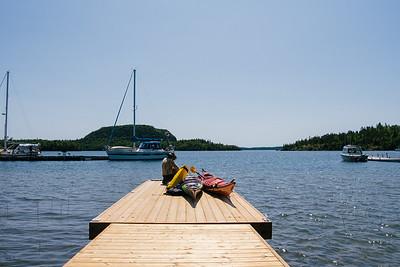 Kayaking Rossport, July '19