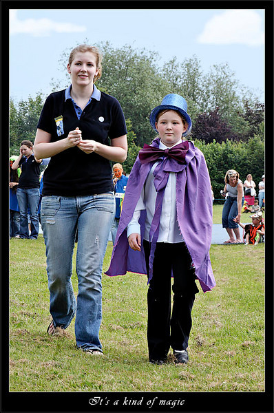 Local magician on way to collect fancy dress prize (80564011).jpg